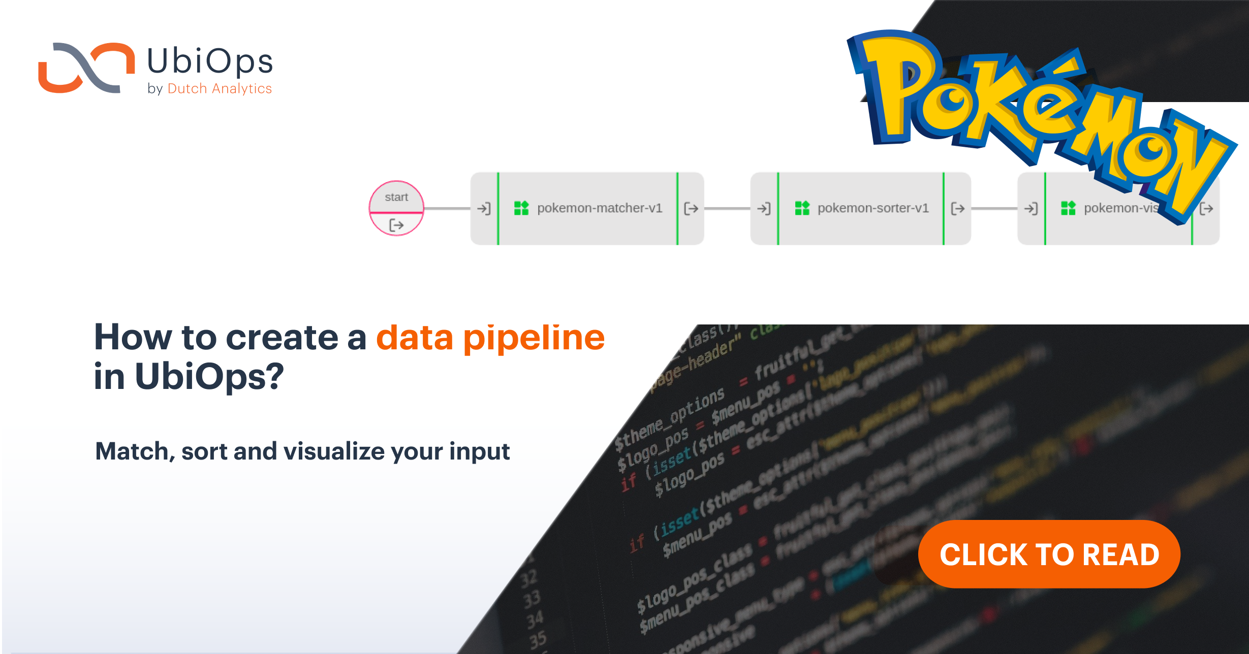 How to create a data pipeline in UbiOps?
