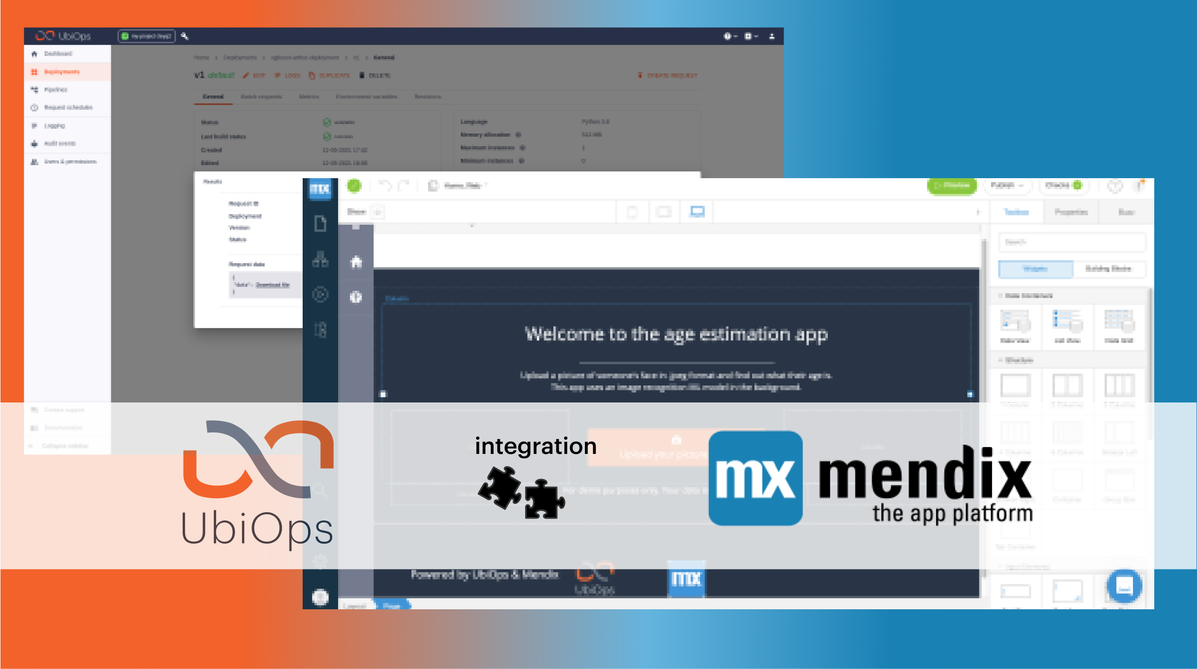 Building a low-code app powered by AI (with Mendix and UbiOps)