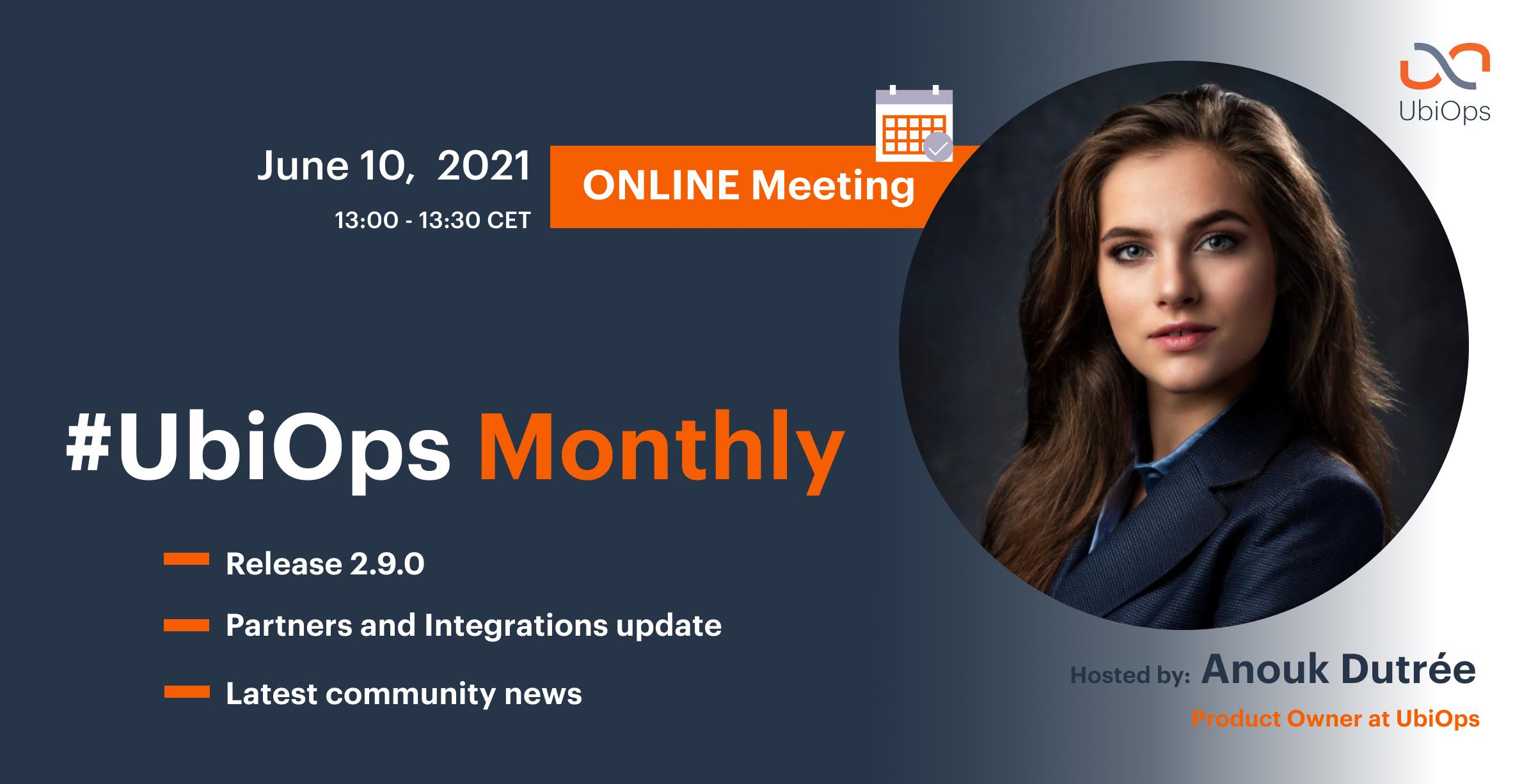 UbiOps monthly update